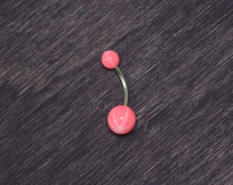 SALE - Surgical Steel Belly Button Rings - Navel Piercing, Belly Barbell, Navel Ring