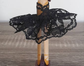 Lacey Ballerina Clothespin Doll