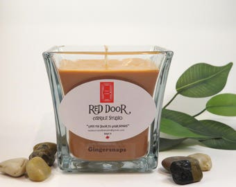Gingersnap Soy Wax Candle-Scented Candle