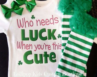 Who needs luck...St. Patrick's Day