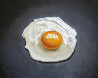 """Original oil on canvas """"Huevo frito"""""""