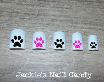 Puppy Nail Design Etsy