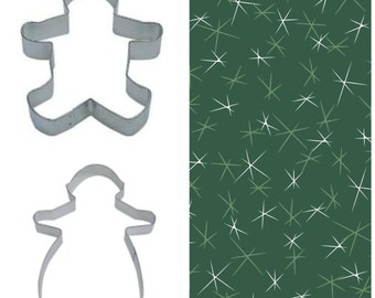 """Christmas Cookie cutter 8"""" Extra Large Gingerbread Boy and Girl set of 2, LIMITED quantities left, almost sold out for 2017"""