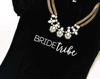 Bride Tribe V neck. Bride Tribe Tshirt. Bride Tribe Shirt. Bride Tribe Tank. Bride Shirts. Bridal Party Shirts. Custom bride tribe