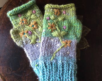 Fairy Crown Matching Fingerless Gloves