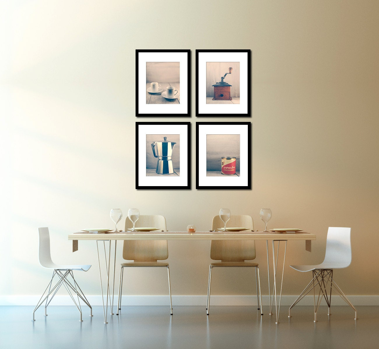 Cafe Wall Decor coffee inspired art espresso kitchen wall