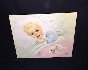 Florence Kroger Litho Winde Pine Print
