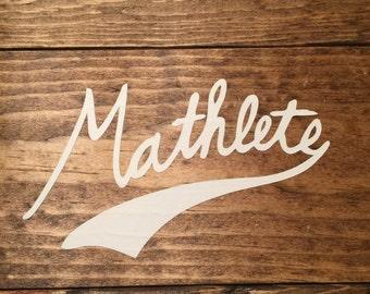 Mathlete Decal