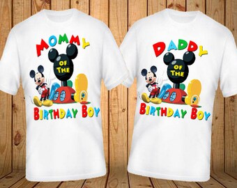 Mommy or Daddy of the Birthday Boy  Shirt