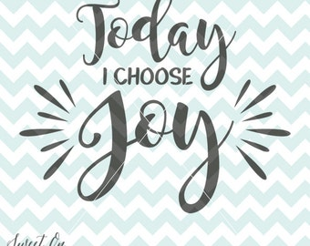 Today I choose joy svg cutting file - Decoration Decal SVG, PNG, JPEG Vector Cricut Silhouette Cut Files Instant Download