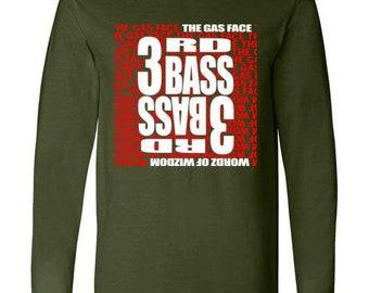 Old school hip hop 3rd Base long sleeve