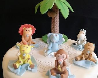 Jungle Baby Shower, Jungle Birthday, Safari Baby Shower, Jungle Safari, Jungle Decoration, Safari Birthday Cake, Jungle Animal Jungle Safari