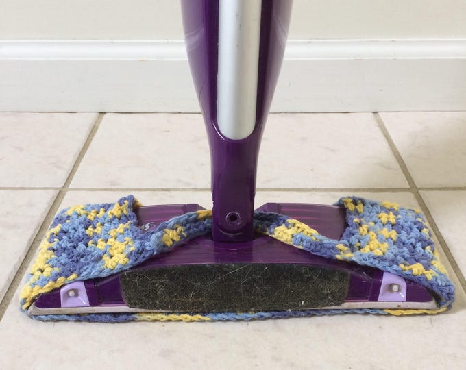 Swiffer / Wet Jet / Crochet Wet Jet Cover / Crochet Swiffer Cover / Wet Jet Pads /  Swiffer Wet Jet / Swiffer Pads / Reuseable Swiffer Pad /