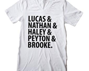 Nathan scott etsy womens graphic t shirt one tree hill publicscrutiny Choice Image