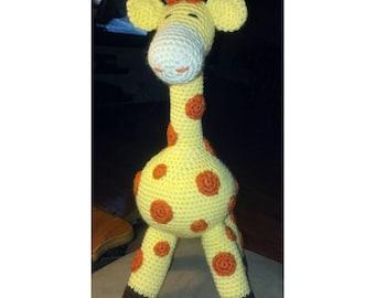 Amigurumi Giraffe Crochet Toy