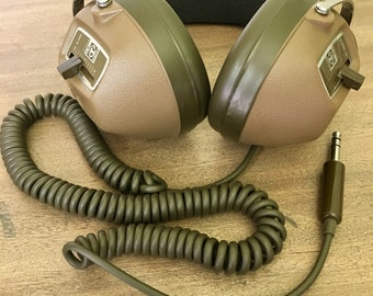 Vintage Koss K-6 LC Stereo Headphones with Volume Control