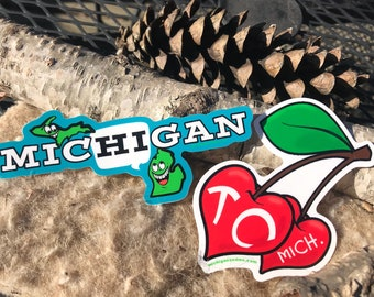 Michigan and or Traverse City stickers