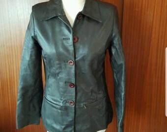Leather jacket Italian Design