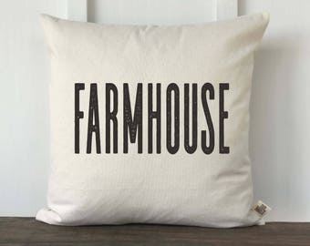 Farmhouse Pillow Cover, Home Pillow Cover, Housewarming Gift, Wedding gift, Decorative Couch Pillow