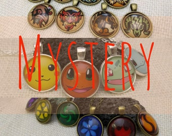 3 Mystery Necklaces, Mystery Grab Bag, Mystery Items, Mystery Jewelry Set