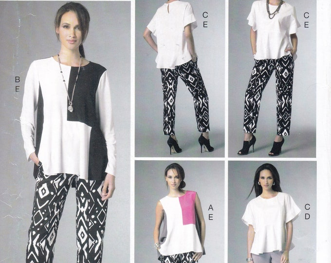 FREE US SHIP Vogue 952 9067 Sewing Pattern Separates 5 Easy Pcs 4/14 16/26 Bust 29 30 32 34 36 38 40 42 44 46 48 Factory Folded