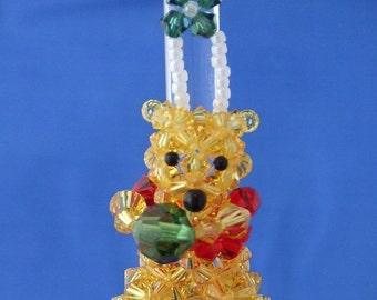 Winnie the Pooh in Swarovski Crystal