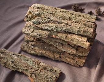 Oak bark for crafts Organic Oak bark décor Natural bark Wedding Decor Holiday Bark decoration Woodland party decor creature decorations