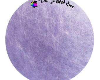 Needle Felting Maori Wool Batt / FB17 Twinkling Twilight Maori Wool Fluffy Batt