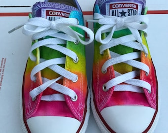 Custom dyed converse youth 2.5
