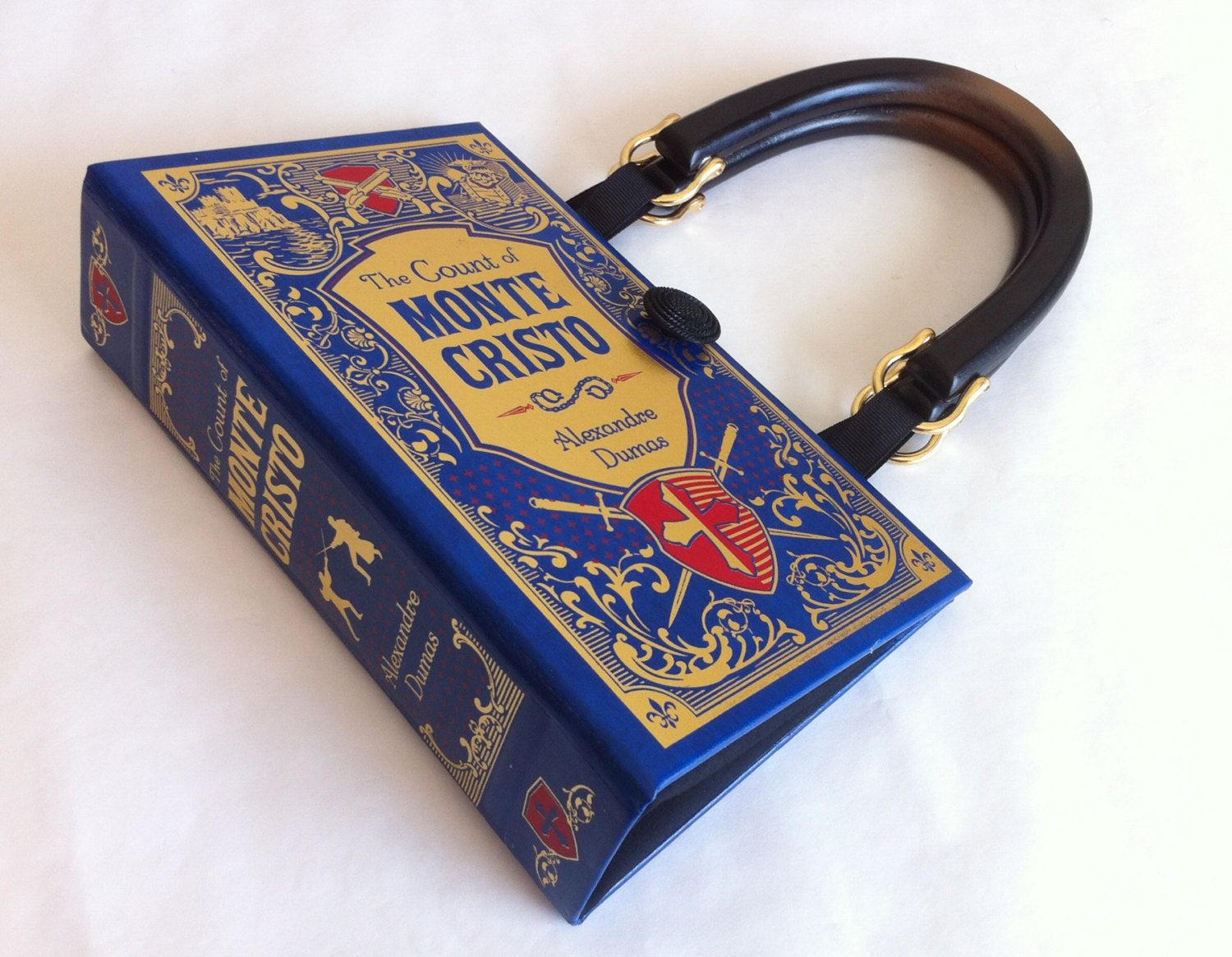 The Count of Monte Cristo Book Purse Monte Cristo Book Cover