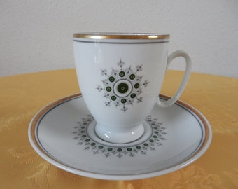 Vintage Cup and saucer Mosa Maastricht Holland