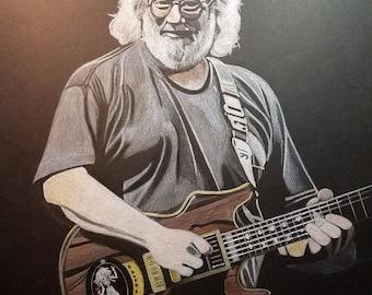 Jerry Garcia - final performance