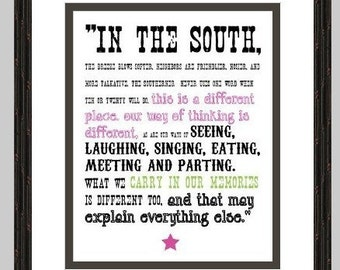Southern Quote (Digital Print)