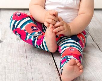 Leggings in poppy