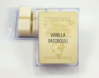 VANILLA PATCHOULI Soy & Beeswax Melts