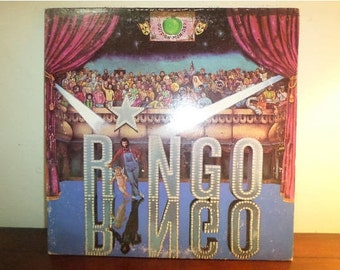 Vintage 1974 Record LP Ringo Starr Ringo Very Good Condition 11822