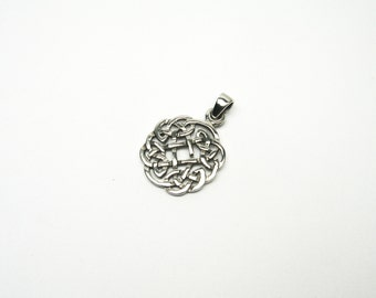 Celtic knot Jewelry Pendant Celtic silver 925