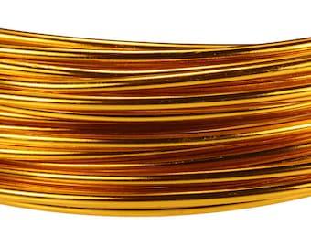 Aluminum Wire Tangerine Color Wire 12ga 39 Feet Per Bag (WR72812)