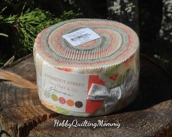 Moda Chesnut Street Jelly Roll Fabric by Fig Tree Quilts, fabric online, jelly roll fabric, designer fabric
