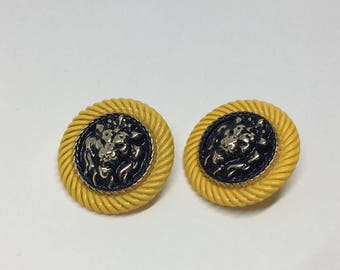 Designer Buttons Set of 2, Pendant Charm