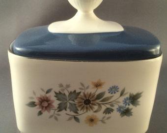 Royal Doulton Pastorale Lidded Sugar Bowl For Tea