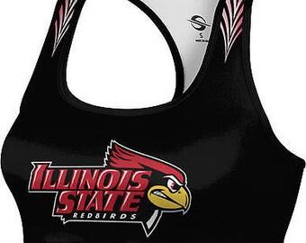 ProSphere Women's Illinois State University Deco Sports Bra (ISU)