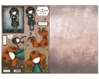 Gor Juss GORJD006 redhead girl
