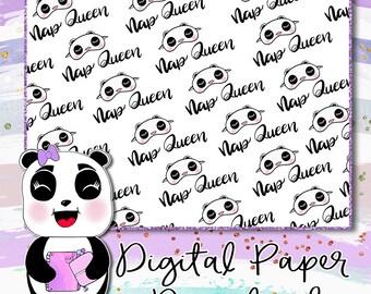 Nap Queen Digital Paper