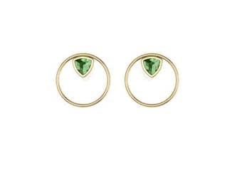 Pines Trillion Earrings
