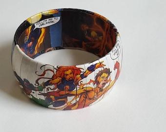 TEEN TITANS Bangle Bracelet - Comic Book Jewelry