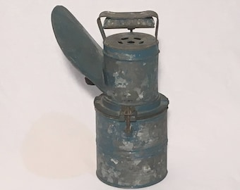 Early 1900's Japanese Carbide Wakow Miners Lamp