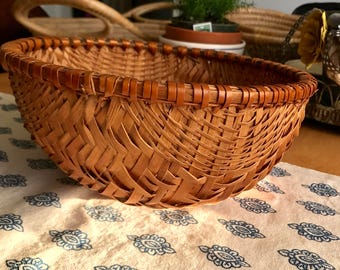 Beautiful vintage winnowing  basket