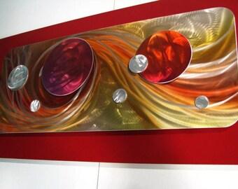 Metal Wall Art Painting Sculpture, Home Decor, Abstract Art, Design by Alex Kovacs - AK101