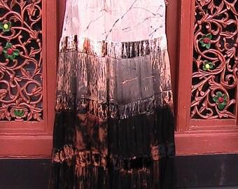 BananaMoon Boho Skirt with velvet